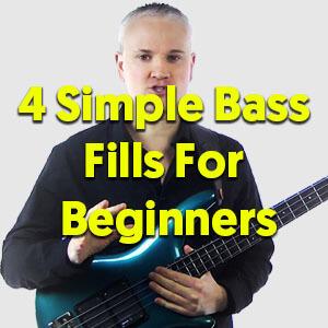 4 Simple Bass Fills For Beginners - TalkingBass